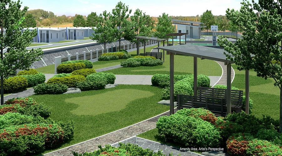SMDC Cheerful Homes - Garden Area