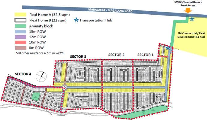 SMDC Cheerful Homes - Site Development Plan