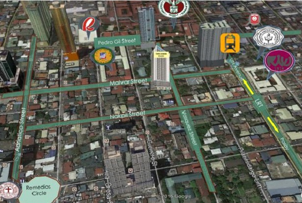 Torre Lorenzo Malate - Location & Vicinity