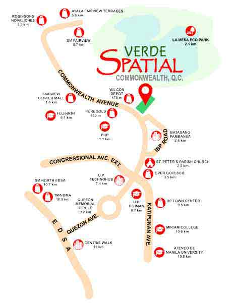 Verde Spatial - Location & Vicinity