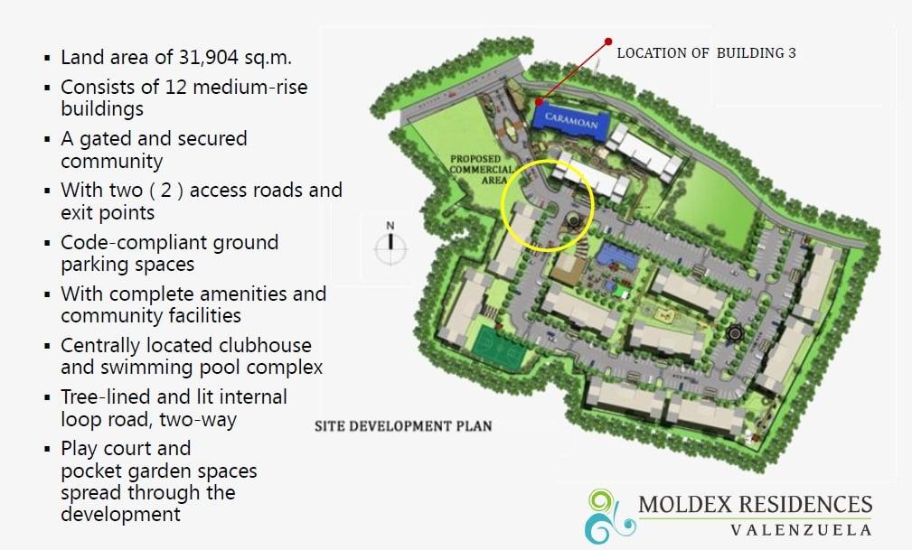 Moldex Residences Valenzuela - Site Development Plan