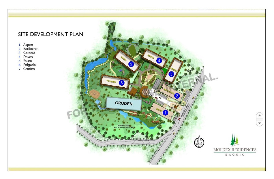Moldex Residences Baguio - Site Development Plan