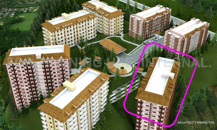 Moldex Residences Baguio - Building Perspective