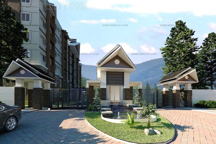 Moldex Residences Baguio - Entrance Gate