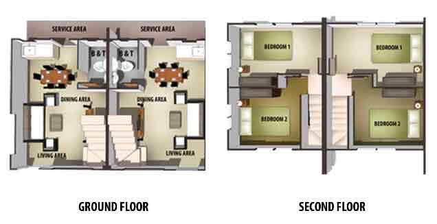 Tierra Vista Ayana - Jasmine Floor Plan