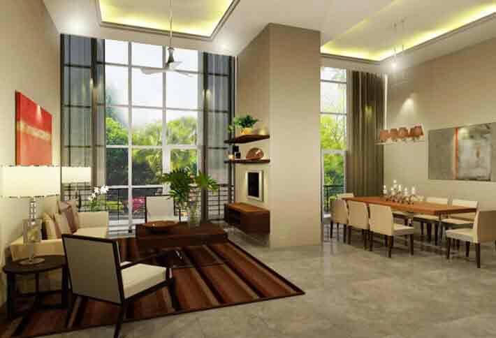 Skyvillas at one balete condominium for sale in quezon for Terrace 45 quezon city