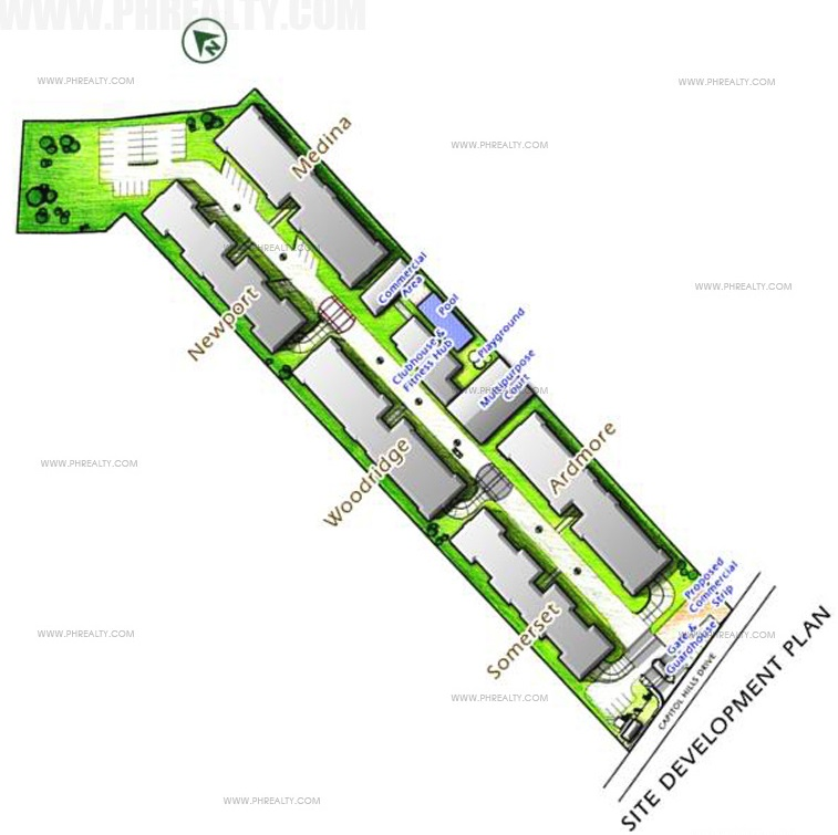 Sofia Bellevue - Site Development Map