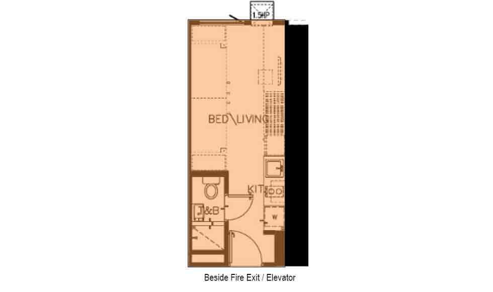 The Symphony Towers  - Studio Unit