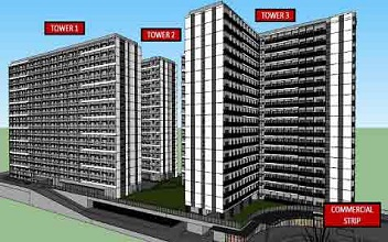 The Symphony Towers  - Green 2 Residences