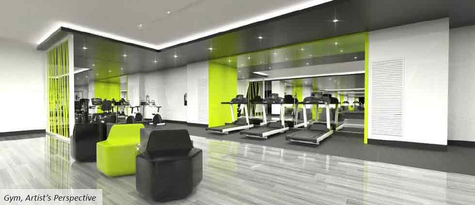 The Symphony Towers  - Fitness Gym