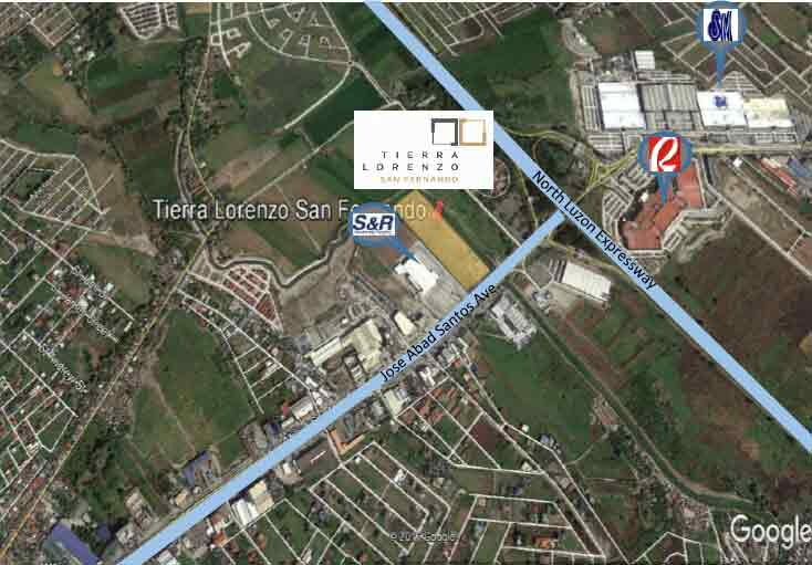 Tierra Lorenzo San Fernando - Location Map