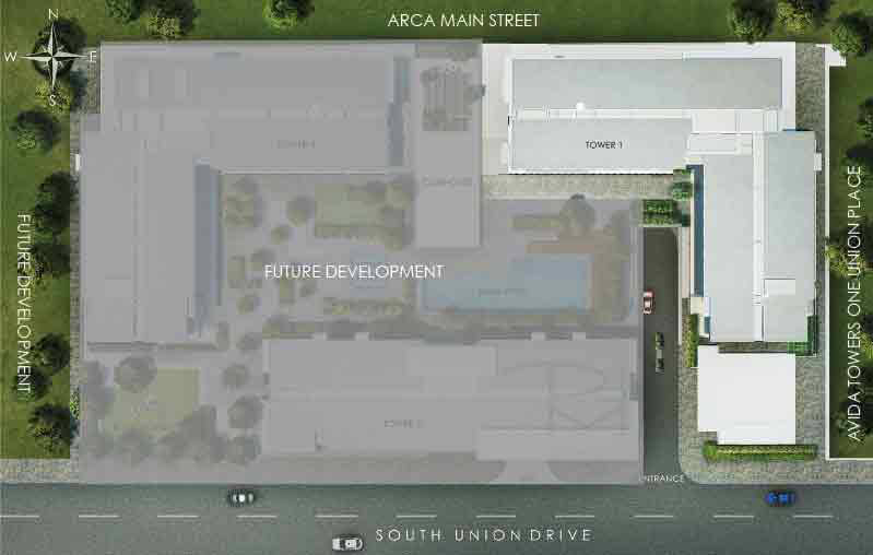 Avida Towers Vita - Site Development Plan