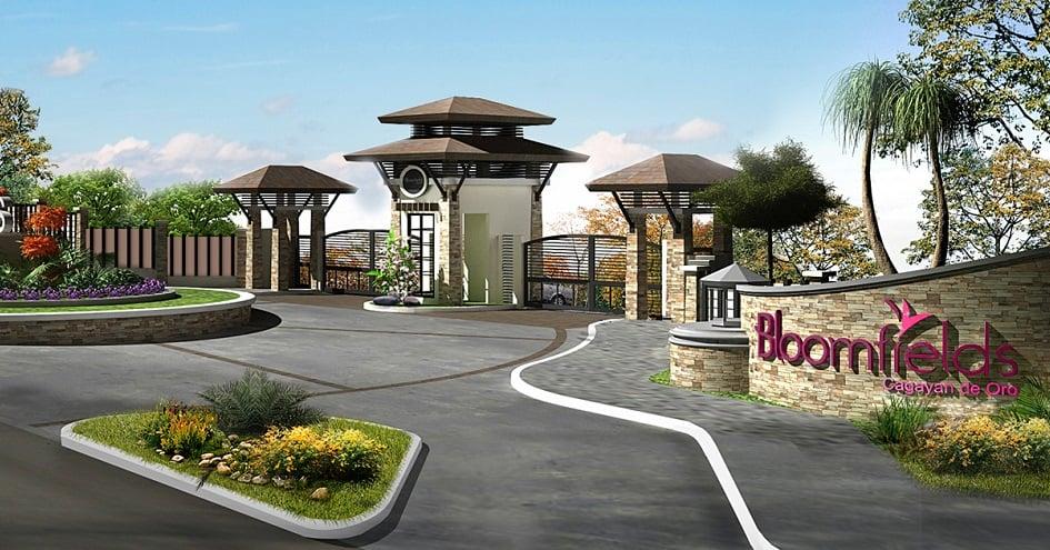 Bloomfields Cagayan De Oro - Entrance Gate