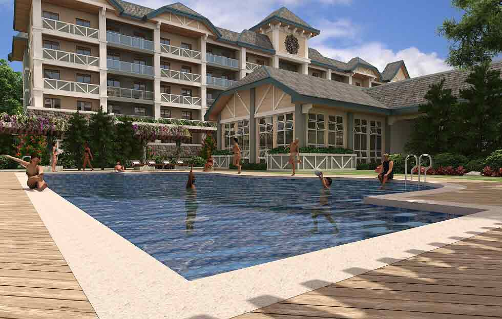 Pine Suites - Swimming Pool & Clubhouse