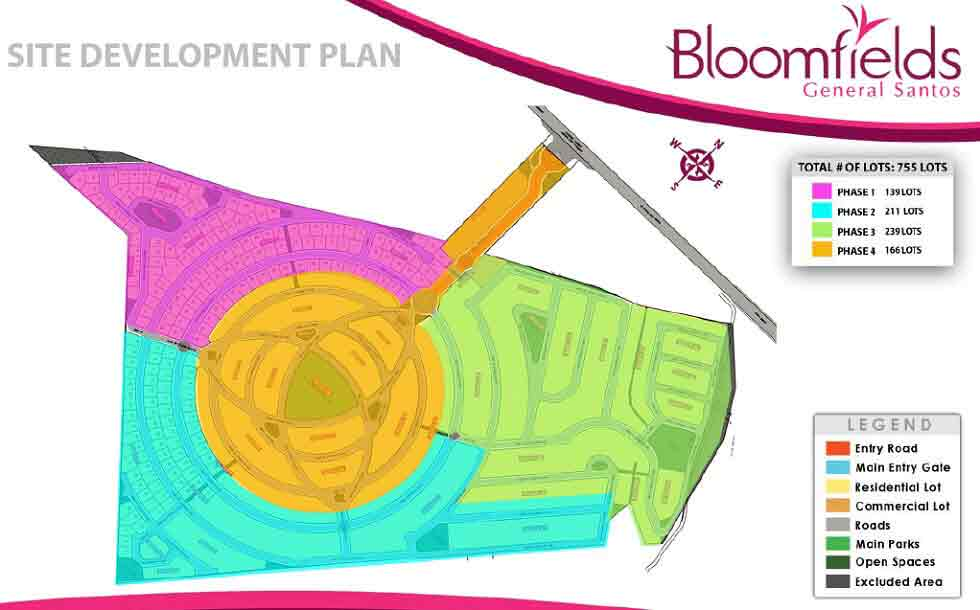 Bloomfields General Santos - Site Development Plan