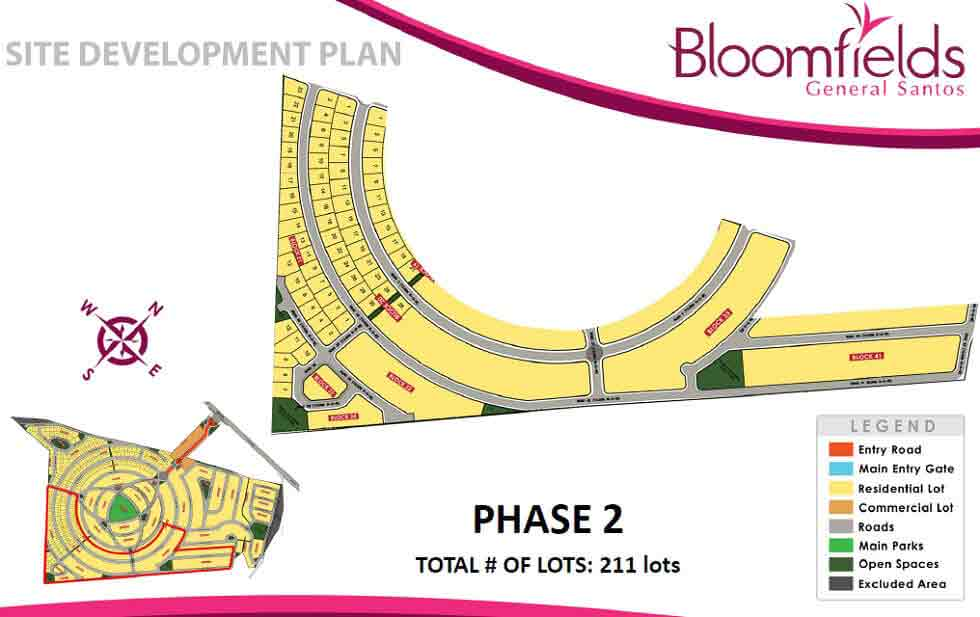Bloomfields General Santos - Site Development Plan - Phase 2