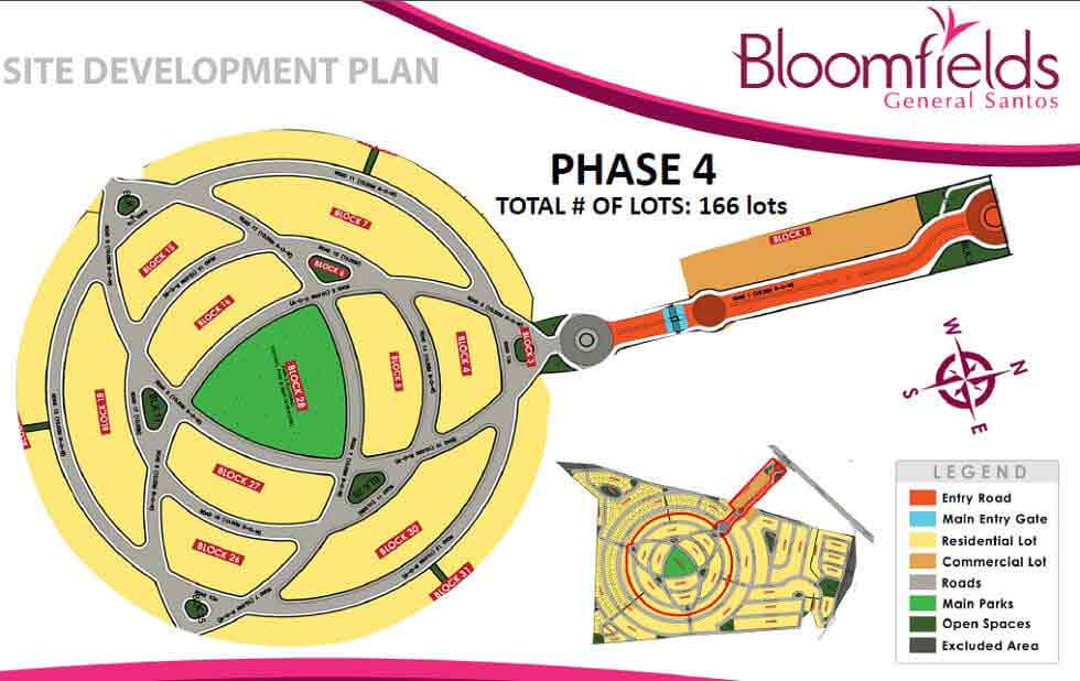 Bloomfields General Santos - Site Development Plan - Phase 4