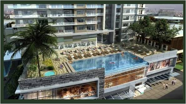 Crown Asia Residences - Swimming Pool