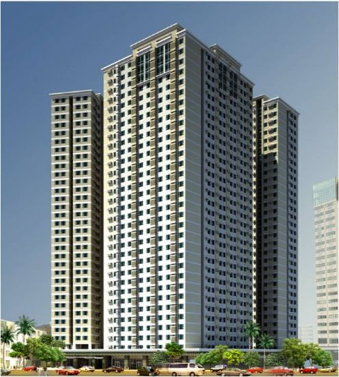 Crown Asia Residences - Building Facade