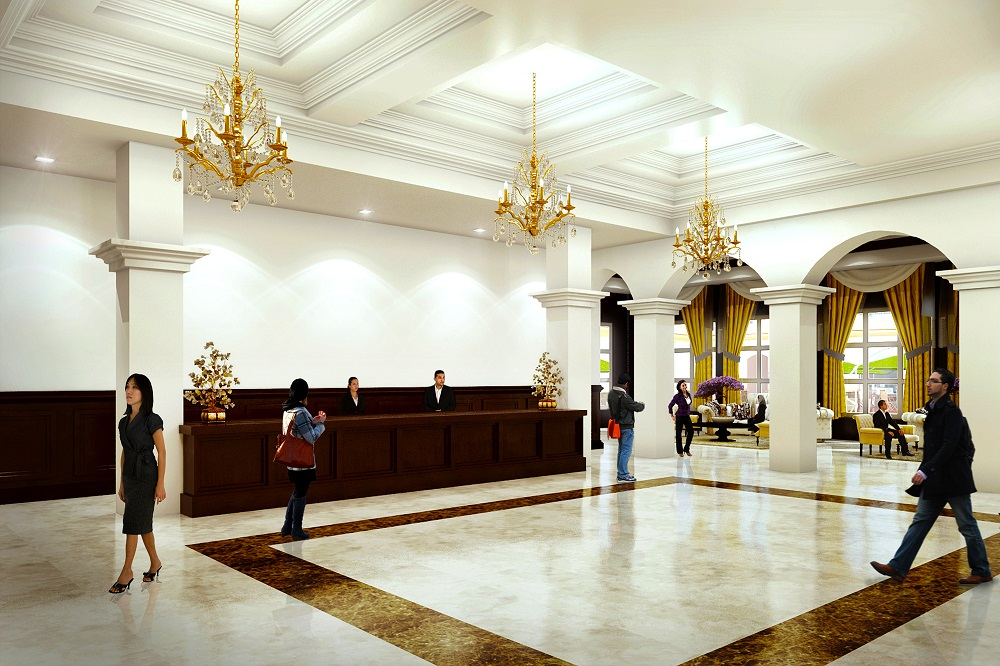 Crown Asia Residences - Grand Lobby