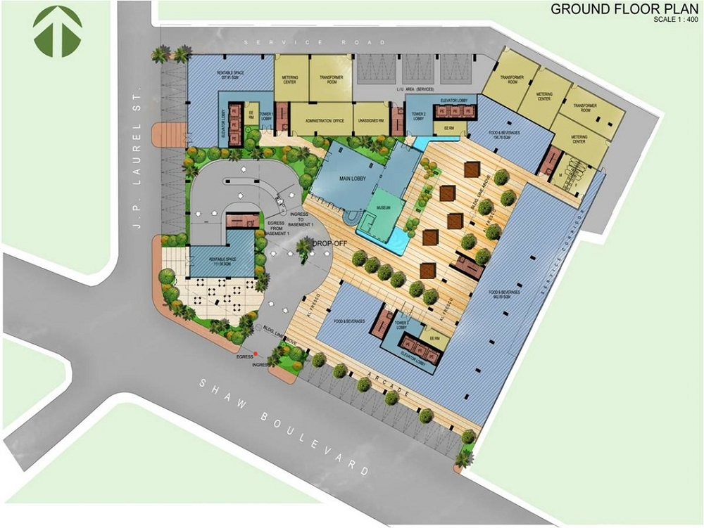 Crown Asia Residences - Ground Floor Plan