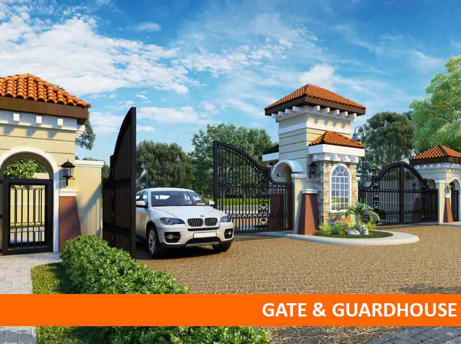 Brighton Bacolod - Gate & Guardhouse