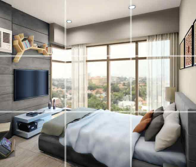 Galleria Residences - Bedroom