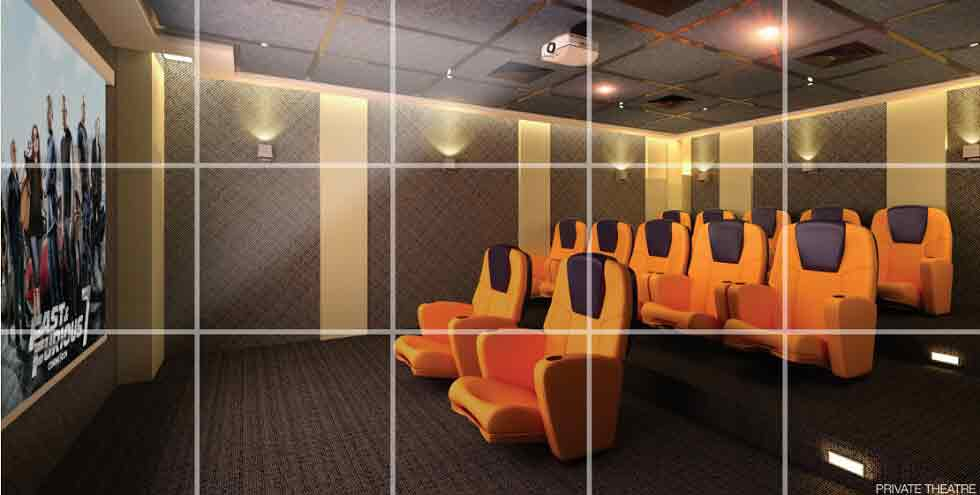 Galleria Residences - Private Theater