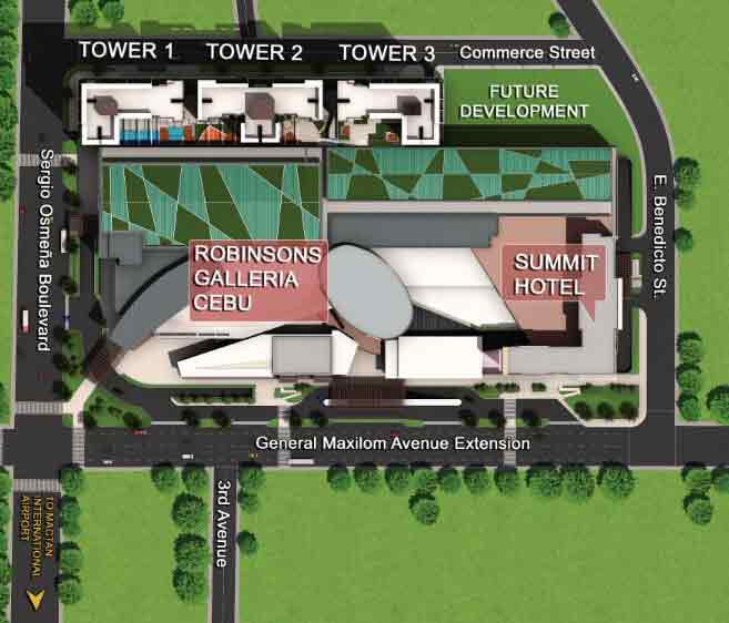 Galleria Residences - Site Development Plan