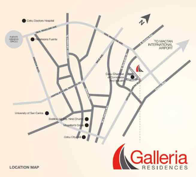 Galleria Residences - Location & Vicinity