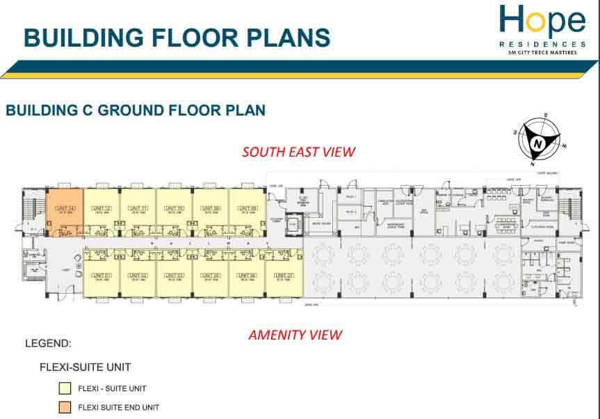 Hope Residences - Floor Plan