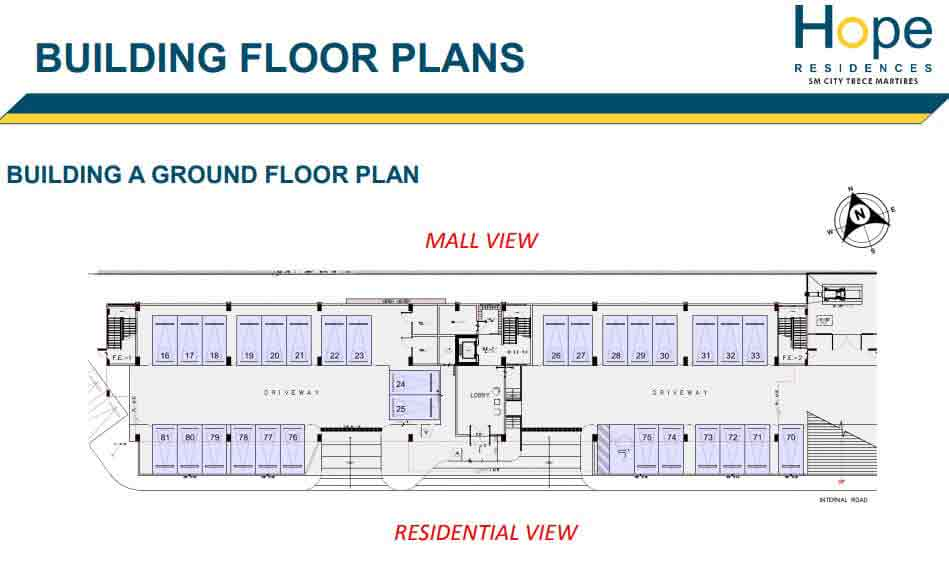 Hope Residences - Building A - Ground Floor Plan