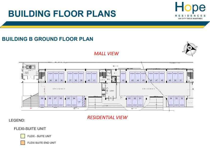 Hope Residences - Building B - Ground Floor Plan