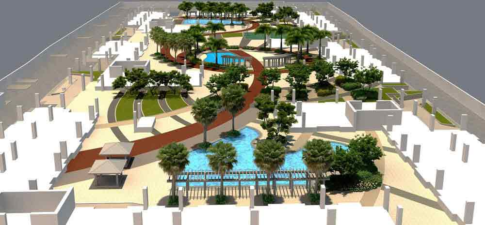 Bloom Residences - Landscaped View