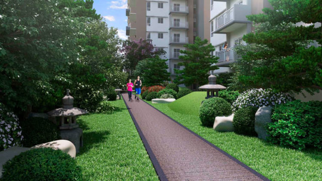 Kai Garden Residences - Jogging Path