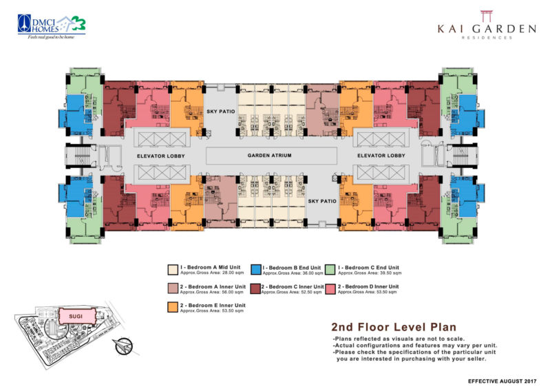 Kai Garden Residences - 2nd Floor Plan