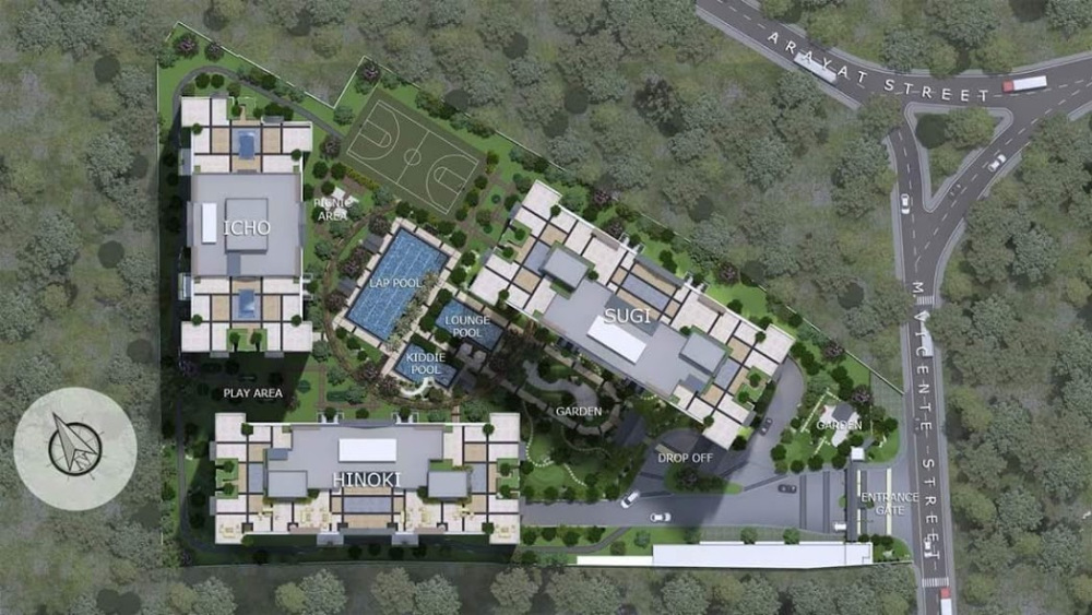 Kai Garden Residences - Site Development Plan