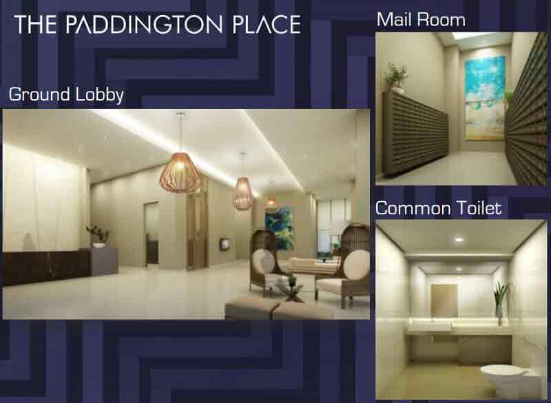 The Paddington Place - Reception Area