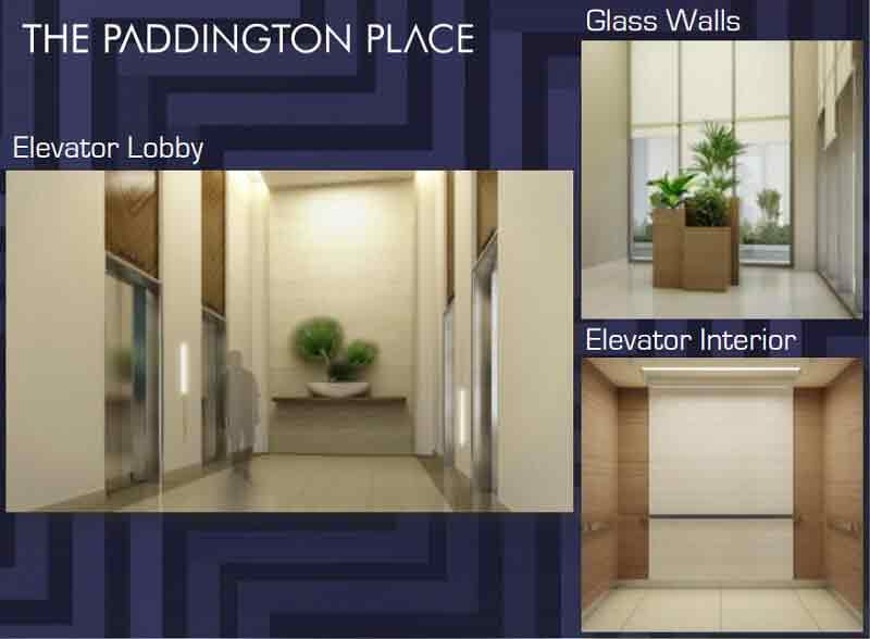 The Paddington Place - Elevator Area