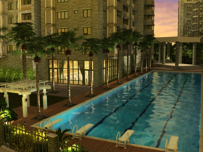 Two Serendra - Lap Pool