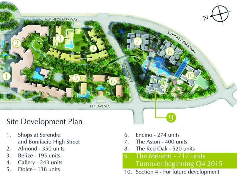 Two Serendra - Site Development Plan