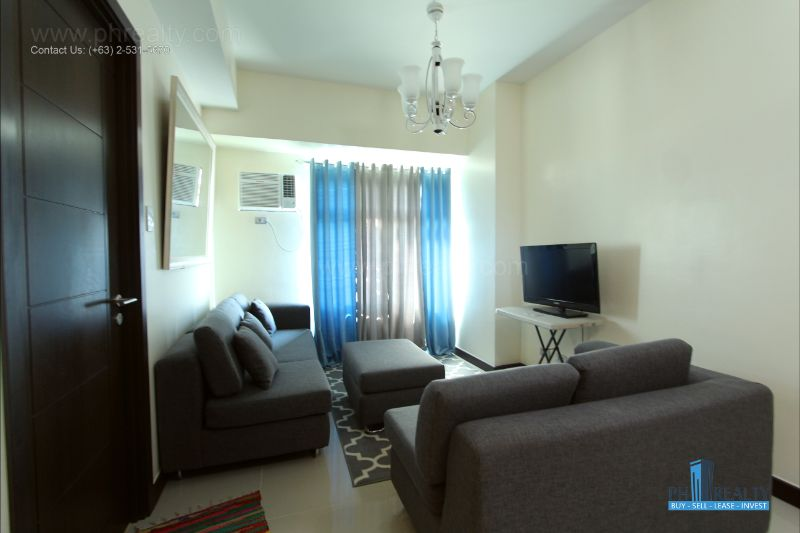 The Magnolia Residences  - Living Room