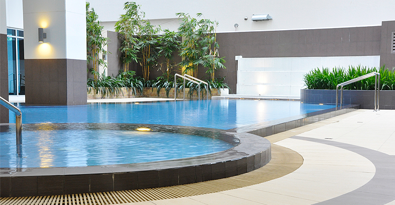 Blue Sapphire Residences - Swimming Pool
