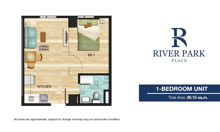 Sentrale Residences - 1 Bedroom Unit