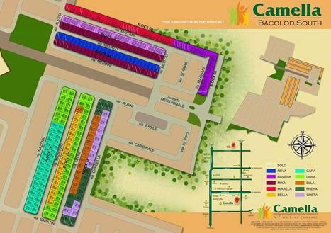 Camella Bacolod South - Site Development Plan