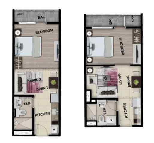 Park McKinley West - 1 Bedroom Unit