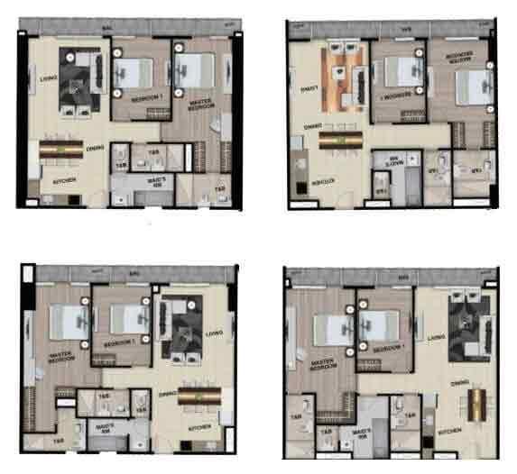 Park McKinley West - 2 Bedroom Unit