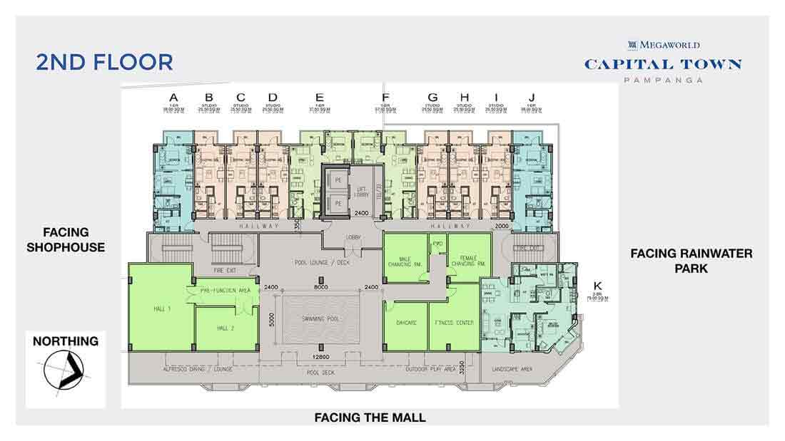 Chelsea Parkplace - 2nd Floor Plan