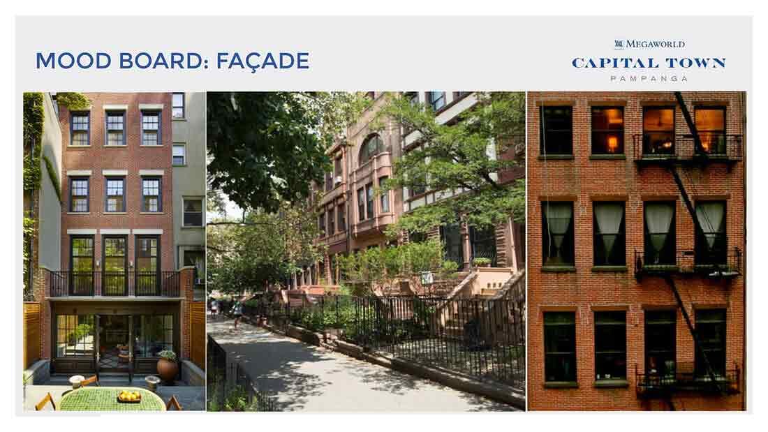 Chelsea Parkplace - Mood Board : Facade