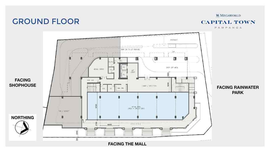 Chelsea Parkplace - Ground Floor Plan